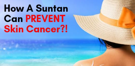How A Suntan Can PREVENT Skin Cancer!