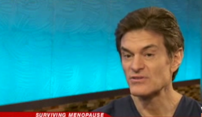 Dr. Oz's Suggestion for Reducing Menopause Symptoms
