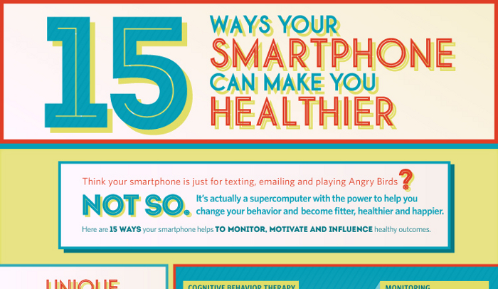 15 Ways Your Phone Can Make You Healthy