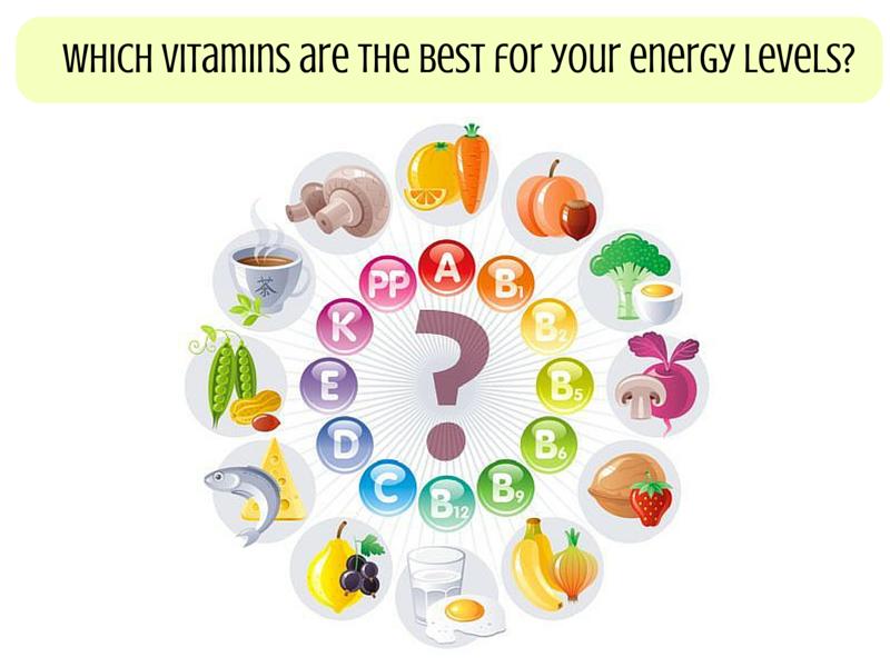 best vitamins for increasing energy levels