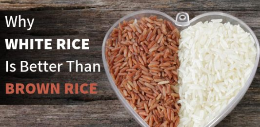 Why White Rice is Better Than Brown Rice