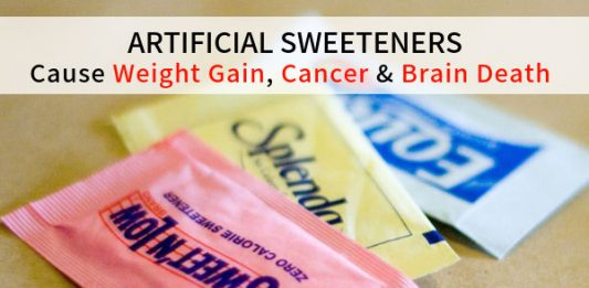 Artificial Sweeteners Cause Weight Gain, Cancer & Brain Death