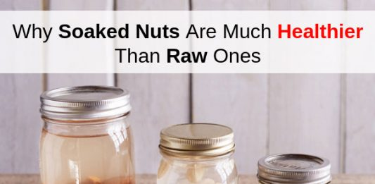 Why Soaked Almonds & Nuts, Are Much Healthier Than Raw Ones