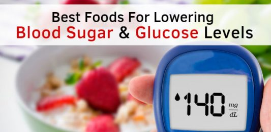 Best Foods For Lowering Blood Sugar & Glucose Levels