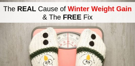The REAL Cause of Winter Weight Gain & The FREE Fix