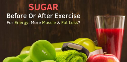 Sugar - Before Or After Exercise