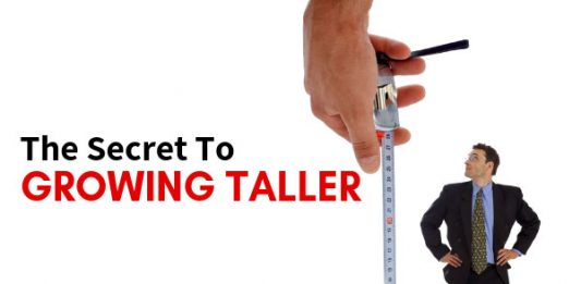 The Secret To Growing Taller