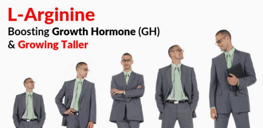 L-Arginine - Boosting Growth Hormone (GH) & Growing Taller