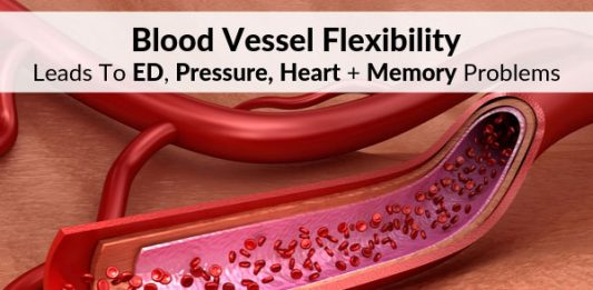 Blood Vessel Flexibility Leads To ED, Pressure, Heart + Memory Problems