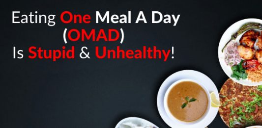 Eating One Meal A Day (OMAD) Is Stupid & Unhealthy!