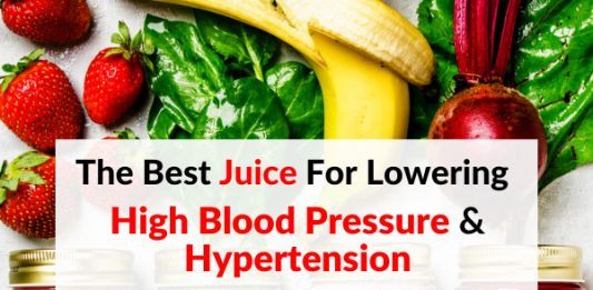 The Best Juice For Lowering High Blood Pressure & Hypertension