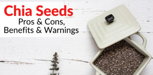 Chia Seeds - Pros & Cons, Benefits & Warnings