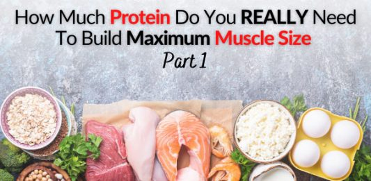 How Much Protein Do You REALLY Need To Build Maximum Muscle Size