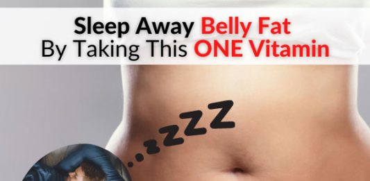 Sleep Away Belly Fat By Taking This ONE Vitamin