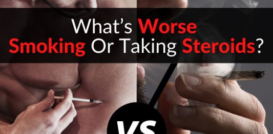 What's Worse - Smoking Or Taking Steroids?