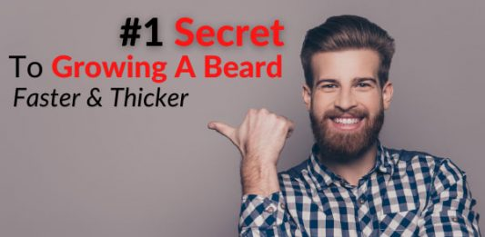 #1 Secret To Growing A Beard Faster & Thicker