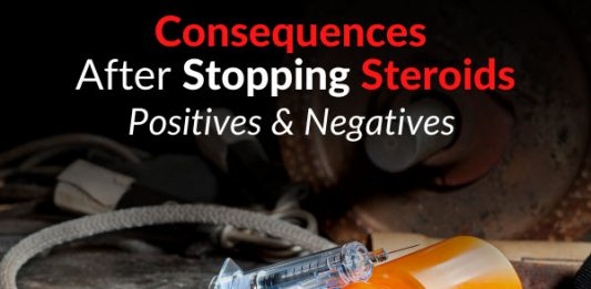 Consequences After Stopping Steroids - Positives & Negatives