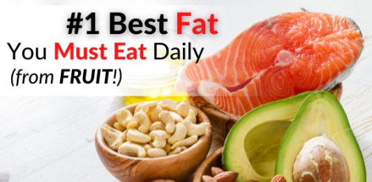 #1 Best Fat You Must Eat Daily (from FRUIT!)