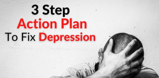 3 Step Action Plan To Fix Depression & Instantly Improve your Mood