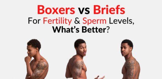 Boxers vs Briefs - For Fertility, Testosterone & Sperm Levels, What's Better?
